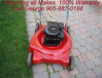 George's Lawnmower Repair at Your Home 905-887-0188