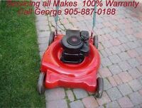 George's Mobile Lawnmower-Snowblower Repair at Your Home 905-887
