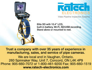 RATECH DRAIN SEWER PIPE CAMERA FOR SALE, MANY CHOICES&AFFORDABLE