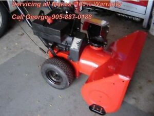 George's SnowBlower Repair/Service at Your Home 905-887-0188
