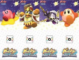 Kirby Amiibo All 4 (nfc cards)