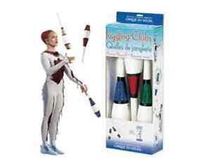 Cirque du Soleil Juggling CLUBS kit HIGGINS BROTHERS devil sticks Juggle Trick