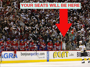 *(3x) TICKETS MONTREAL CANADIENS HOME GAMES *OCT*PRESTIGE 102 BB