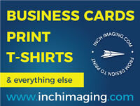 Business Cards, Signs, Postcards, & More - PRINT!