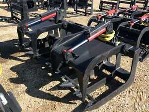 """NEW - 80"""" Root Grapple for Skid Steer or Track Loader"""