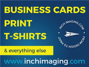 Business Cards, Postcards, Signs & More! Print with Inch Imaging
