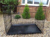 Large Dog Cage x 2