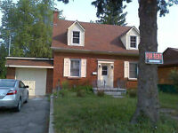 Spacious Unfurnished Student House For Rent - Sept. 1st.