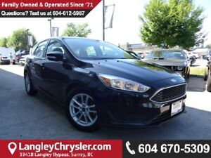 2015 Ford Focus SE *ACCIDENT FREE*ONE OWNER*LOCAL BC CAR*