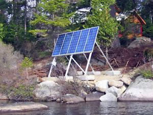Pompe solaire 12 volts ITT Série 4000 chalet, bovins, irrigation Québec City Québec image 8