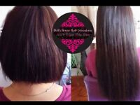 Full head hair extensions $320