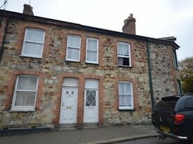 2 Bedroom Terraced Cottage, Truro Town Centre to Rent, Central Heating, Two Three Possible 3