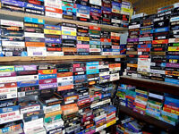 Over 500 VHS Tapes: Movies, Films, Series, Concerts. All in good condition!