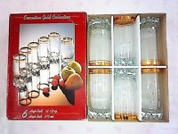 BRAND NEW set of 6 party glasses - with box. **Collection only**