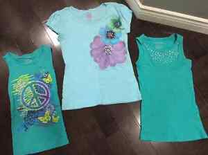 Girls t-shirt and tanks - SIZE 10/12.