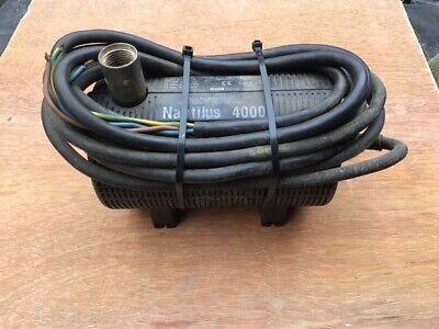 Oase Nautilus 4000 pump (used)
