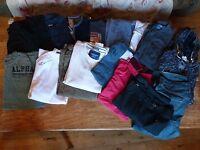 Mens size Large bundle of clothing