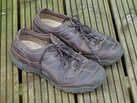 Mens Clarks 'Active Air' leather Goretex shoes