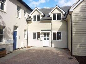 Two double bedroom house close to town and station
