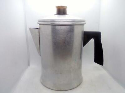 Vintage Mirro Aluminum 5 Cup Coffee Pot ~ Stove Top Percolator
