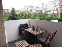 Furnished 1 bedroom,private terrace,wood floors in Waterside Park , Waterside Heights, Royal Docks