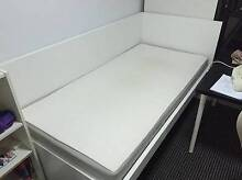 Ikea white single bed for sale free delivery Narwee Canterbury Area Preview