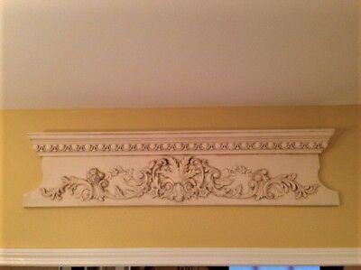 Ballard Design Above Door, Wall Plaque, Finial ~ Very Nice! - Above Door Decor