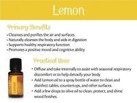 doTERRA - Lemon Essential Oil - Food Grade
