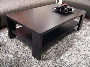 Coffee-Table-Dark-Walnut-Modern-Style-Wooden-Frame-With-Wood-Grain-Finish