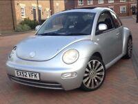 Volkswagen Beetle 2002 1.6 Spacious Car Lady Owner 1yrs MOT
