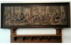 OLD FRENCH TAPESTRY