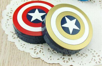 Kontaktlinsen Aufbewahrung Captain America Kontaktlinsenbox Linsenbox Avengers ()