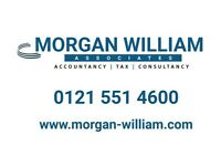 MORGAN WILLIAM ASSOCIATES - SAVE £££s- £99 SELF ASSESSMENT TAX RETURNS - ACCOUNTS , VAT , PAYROLL