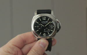 PANERAI PAM90 // w. papers + 2x leather straps + 1x rubber strap