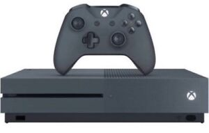 Xbox one S 500gb gears of war and halo 375$