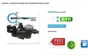 Astral Pool and Spa pump Noble Park Greater Dandenong Preview