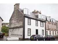 Two bedroom flat to rent in Inverkip with own private garden!