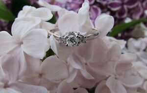 0.23 CT. T.W. Diamond Engagement Ring in 10K White Gold