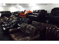 Ireland Largest suppliers second hand leather sofas Belfast based