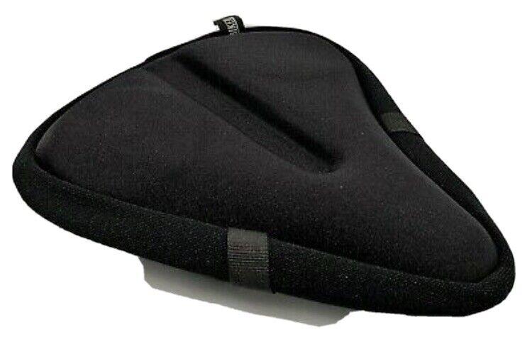 Bikeroo Large Bike Seat Cushion - (11 inches x 10 inches) Wide Gel Soft Pad