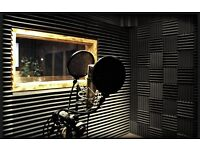 Fully Soundproofed Recording Studio to Rent in East London with Control/Live Room!