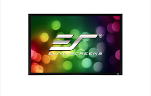 Elite Screens - Sable Frame 120 inches/pouces 16:9 UHD 4K Fixed