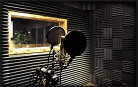 Fully Soundproofed Music Studio (Control/Live Room) To Rent in Star Lane.