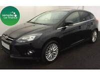 £152.02 PER MONTH BLACK 2011 FORD FOCUS 1.6 TI-VCT ZETEC 5 DOORS PETROL MANUAL
