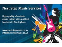 Piano, Guitar, Keyboard, Saxophone, Flute and Drum Kit Lessons from Next Step Music Services