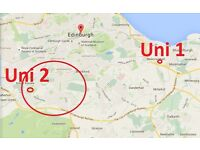 Looking for flat for 2 around Craiglockhart EH11