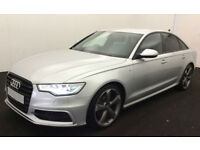 Audi A6 Saloon Black Edition FROM £72 PER WEEK!
