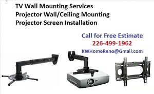 TV Wall Mounting & Projector Ceiling Mount  We sell TV Wall Moun