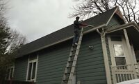 $80 Eavestrough & Downsprout Cleaning (Insured)