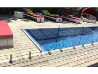 NEW AND USED 10MM TOUGHENED GLASS BALUSTRADE PANELS